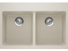 Double Sink B - *All 4 style sinks come with the finish of  Alpina, Mocha, Onyx and Beige